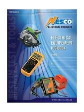 Electrical Equipment Testing Log Book Electric Wholesale Test