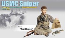 "Dragon WWII US 1/6 Scale 12"" Soldier USMC Marine Sniper Jake Hanson 70761"