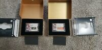 Barry Larkin and Buster Posey 2020 Topps Luminaries Encased On Card Auto