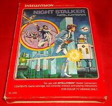 NIGHT STALKER (Agguato Notturno) Intellivision Versione Italiana ○ COMPLETO