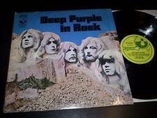 "DEEP PURPLE ""In Rock"" LP HARVEST ITA 1970 3C 062-91 442"
