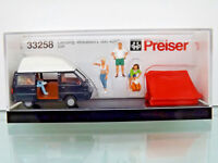 Preiser 33258-H0 Figuras 1:87 - Camping. MITSUBISHI L 300 - Nuevo en Emb. Orig.