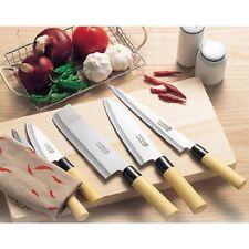 NEW Takaaki Nakamura BEST Japanese Chef Kitchen Knives Wood Box Case 5 Knife Set