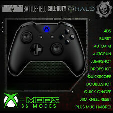 XBOX ONE S RAPID FIRE CONTROLLER - BEST MOD ON EBAY! **BLACKOUT BLUE LED** - CoD