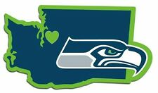 Seattle Seahawks Home State Vinyl Decals Football NEW!