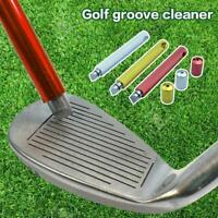 Golf Iron Wedge Groove Sharpener Cleaning Tool Cleaner Square Groove Cleaner