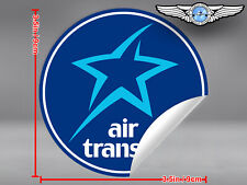 AIR TRANSAT ROUND LOGO STICKER / DECAL