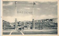CPA - Belgique - Bredene - Entrée vers la Plage