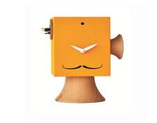 Orologi a Cucù da appoggio, Giallo, Dalì, in Legno, Cuckoo Wall Clock, Design
