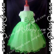 Vêtements verts décontracté en polyester pour fille de 2 à 16 ans