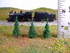 "20 model trees: 1.5"" Pines Perfect N Scale WAR GAMING Scenery Landscape Terrain"