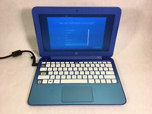 "HP Stream 11 - 11.6"" Laptop - Intel Celeron 2.16GHz 2GB 32GB Win10 - READ -RR"