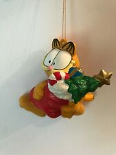 PAWS Garfield Holding Stocking Ornament