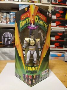 """Mighty Morphin Power Rangers Legacy Tommy White Ranger 5"""" Toys R Us Exclusive"""