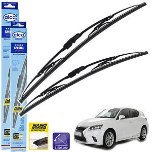 """Fits Lexus Ct 2010-On Standard Windscreen Wiper Blades 26""""18"""" Alca Special"""