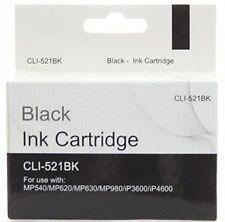 Compatible Canon Pixma CLI-521BK Black Printer INK Cartridge CHEAP!!! CLI521