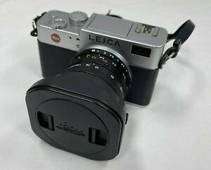 Leica Digilux 2 5.0MP Digital SLR Camera - Black Silver w/ ASPH 7-22.5mm Lens