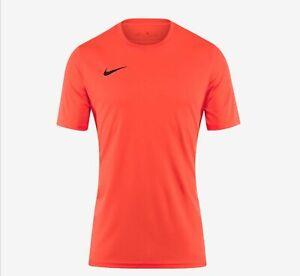 Nike Park VII Men T-Shirt Gym Training Active Short Sleeve Top Small.
