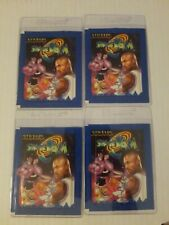 4 Un-opened Michael Jordan Space Jam 6 Sticker Collection packs! Rare Find