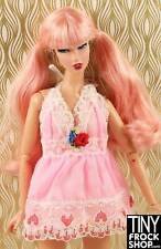 Barbie Pink Heart and Lace Short Night Gown