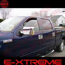 FOR FORD 2004 2005 2006 2007 2008 F150 XLT/FX4 TRIPLE CHROME MIRROR COVER