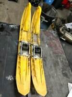 Ski Doo 2000 MXZ 600 YELLOW PRESISION  SKIS 01 02 03 04 05 BM385