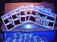 5 Abl Columbus Quest 1998-99 Champions women Basketball Ohio Car Window Decal