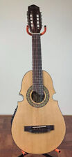 Cuatro De Puerto Rico Don Jose, Acoustic-Electric 10 String Guitar., With Bag