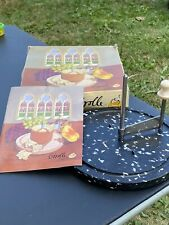 NEW GIROLLE ORIGINALE CHEESE SCRAPER SLICER TETE DE MOINE CHEESE PLASTIQUE NOIR