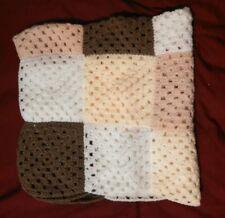 Gorgeous handmade baby blanket crochet