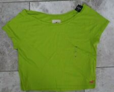 HOLLISTER Abercrombie Women's T Shirt Crop Top S Small M Medium L Large BNWT