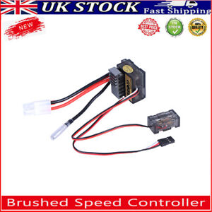 320A Brushed Speed Controller ESC Regulator for 1/8 1/10 RC Car Boat Crawler UK