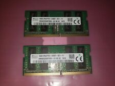 32GB SK Hynix 2X 16GB 2RX8 DDR4-2400T PC4-19200 SODIMM Laptop Memory RAM