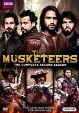 The Musketeers: Season Two (DVD, 2015, 3-Disc Set) BBC VIDEO