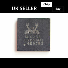 2x REALTEK ALC233 6x6mm High Definition Audio Codec IC Chip