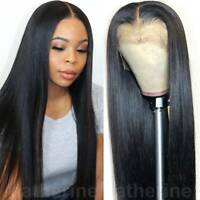 100% Indian Remy Human Hair Wig Lace Front Wig Full Lace Wig Natural Straight bg
