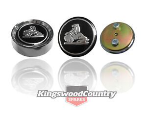 Holden GTS Monaro Road Wheel Centre Cap. Bolt-On inc Decal. HQ GTS (no tail)