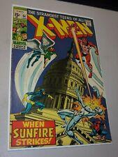 X-men #64 1st Appearance of Sunfire Great Color Key Marvel Comic VF++ Range
