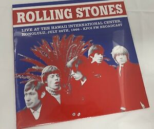 Rolling Stones Live at the Hawaii International Centre Vinyl Album Record LPNEW