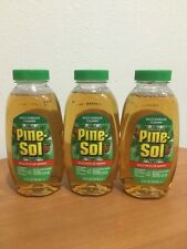 PINE-SOL Multi-Surface Cleaner Kills 99.9% Of Germs 3 Bottles Makes 15 Gallons
