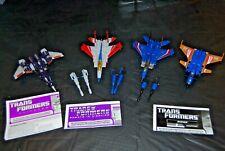 Transformers Hasbro Deluxe Decepticon 4 Generations Seekers Starscream Dirge +