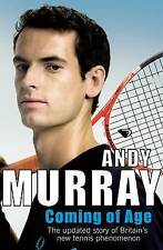 Coming Of Age: The Autobiography. Tennis Biography, Andy Murray, Sports Bio