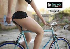 Bianchi Girl trade advertising A4 colour poster Colnago Campagnolo Super Record