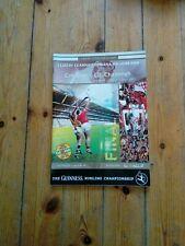 GAA 2004 All Ireland SHC final Cork v Kilkenny official match programme