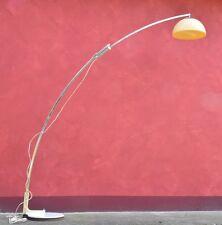 Lampada Piantana Arco design G.Reggiani Steel+Plastic Vintage'60 Floor Lamp-18A
