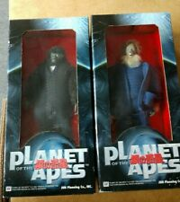 Lot Of 2 Jun Planning Co The Planet Of The Apes Krull & Limbo Action Figures Nip