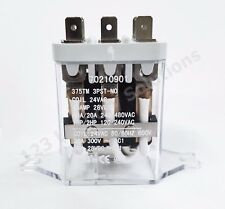 New Dryer Relay 24V 50/60Hz 3Pst-No Pkg 70210901P for Heubsch