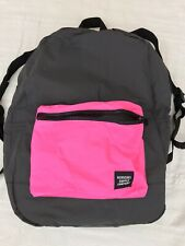 HERSCHEL SUPPLY CO. PACKABLE DAYPACK  REFLECTIVE DAYPACK  24.5 L, BLACK/PK,  NWT