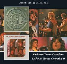 Bachman-Turner Overd - Bachman-Turner Overdrive 1 & 2 [New CD] Rmst