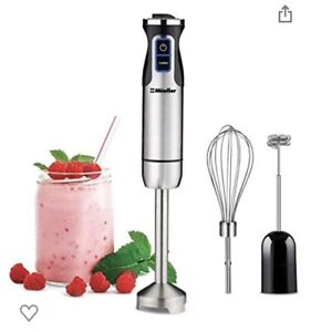 Mueller Multi-Purpose Hand Blender Ultra-Stick 500 Watt 9-Speed Immersion Mixer